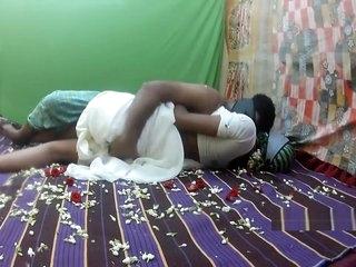 white saree honeymoon part1