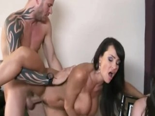 Mommy wants all the sweet spunk for her huge tits only