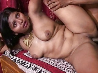 Chubby Indian babe gets pounded hard by her horny husband