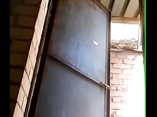 Desi village girl pissing in washroom