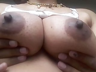 Desi Tamil aunty Milky Boobs Fondled
