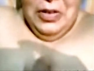 Indian Aunty Blowjob And Cumshot on Face