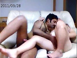 Indian NRI Guy Fucking Asian Babe