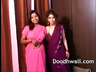 Indian College Girls In Sari Lesbian Mind Blowing XXX Porn