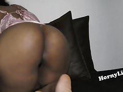 Horny South Indian bird with big ass masturbating