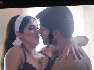 Moaning spit & cum tribute to milky slut Garima jain 1