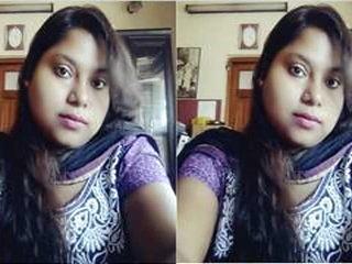 Today Exclusive- Horny Kolkata Girl Nude On V...