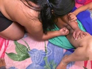Indian Lesbian Bhabhi And Young Girl Hindi Sex